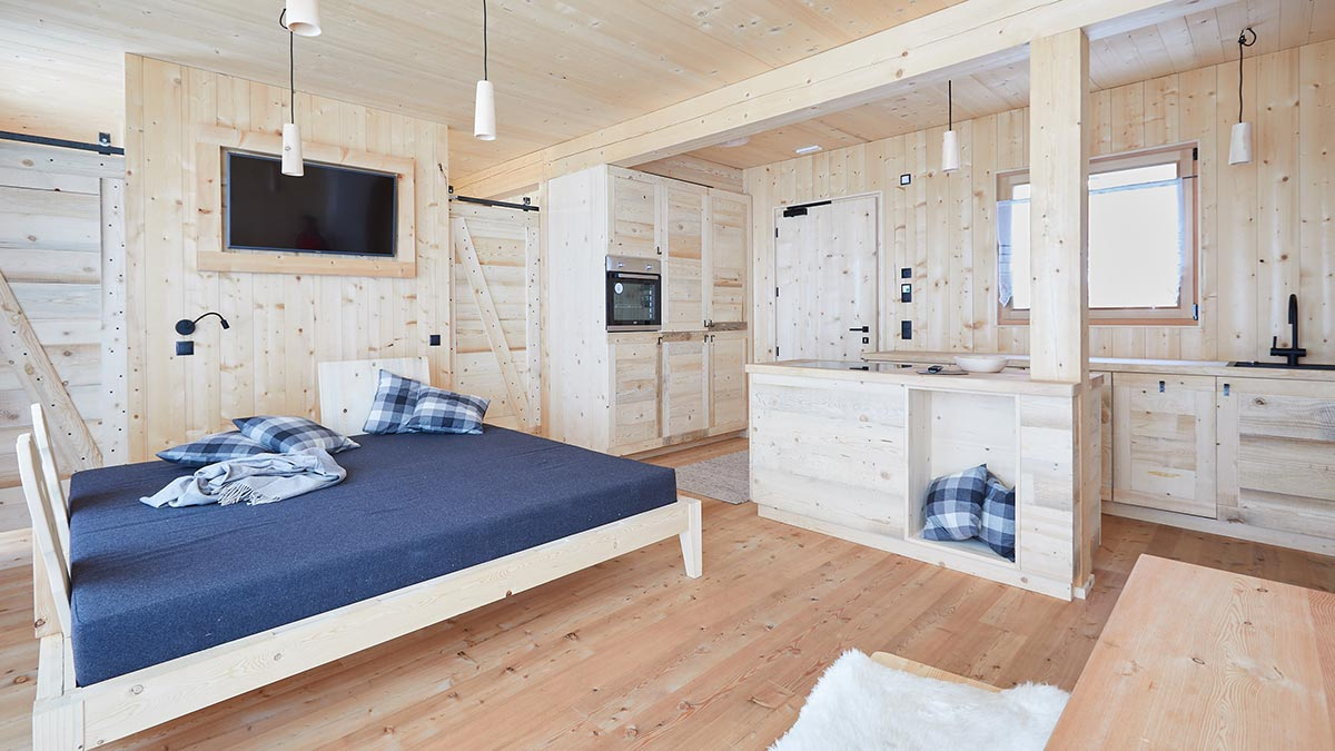 New chalet houses with feel-good factor